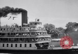 Image of Port of Stockton steamboat  Sacramento California USA, 1938, second 18 stock footage video 65675034097