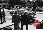 Image of Cuban President Fulgenci Batista greets visiting officials Cuba, 1957, second 5 stock footage video 65675034275