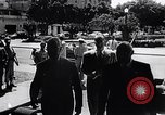 Image of Cuban President Fulgenci Batista greets visiting officials Cuba, 1957, second 7 stock footage video 65675034275