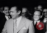 Image of Cuban President Fulgenci Batista greets visiting officials Cuba, 1957, second 13 stock footage video 65675034275