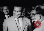 Image of Cuban President Fulgenci Batista greets visiting officials Cuba, 1957, second 14 stock footage video 65675034275