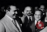 Image of Cuban President Fulgenci Batista greets visiting officials Cuba, 1957, second 15 stock footage video 65675034275