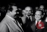 Image of Cuban President Fulgenci Batista greets visiting officials Cuba, 1957, second 16 stock footage video 65675034275