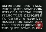 Image of Remote Controlled TV Glide Bomb United States USA, 1944, second 14 stock footage video 65675036031