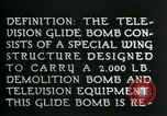 Image of Remote Controlled TV Glide Bomb United States USA, 1944, second 15 stock footage video 65675036031