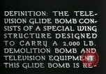 Image of Remote Controlled TV Glide Bomb United States USA, 1944, second 16 stock footage video 65675036031