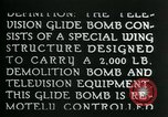 Image of Remote Controlled TV Glide Bomb United States USA, 1944, second 17 stock footage video 65675036031