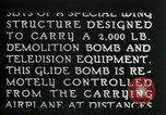 Image of Remote Controlled TV Glide Bomb United States USA, 1944, second 19 stock footage video 65675036031