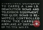 Image of Remote Controlled TV Glide Bomb United States USA, 1944, second 20 stock footage video 65675036031