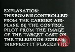 Image of Remote Controlled TV Glide Bomb United States USA, 1944, second 39 stock footage video 65675036031
