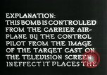 Image of Remote Controlled TV Glide Bomb United States USA, 1944, second 41 stock footage video 65675036031