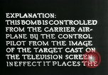 Image of Remote Controlled TV Glide Bomb United States USA, 1944, second 42 stock footage video 65675036031