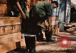 Image of 85th Engr Fire Fighters Team Lai Khe South Vietnam, 1968, second 33 stock footage video 65675037291
