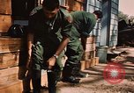 Image of 85th Engr Fire Fighters Team Lai Khe South Vietnam, 1968, second 35 stock footage video 65675037291
