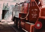 Image of 85th Engr Fire Fighters Team Lai Khe South Vietnam, 1968, second 49 stock footage video 65675037291