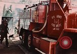 Image of 85th Engr Fire Fighters Team Lai Khe South Vietnam, 1968, second 51 stock footage video 65675037291