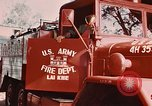 Image of 85th Engr Fire Fighters Team Lai Khe South Vietnam, 1968, second 55 stock footage video 65675037291