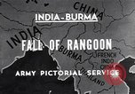 Image of British Indian 50th Parachute Division Rangoon Burma, 1945, second 1 stock footage video 65675037608