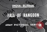 Image of British Indian 50th Parachute Division Rangoon Burma, 1945, second 2 stock footage video 65675037608