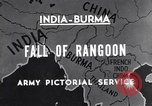 Image of British Indian 50th Parachute Division Rangoon Burma, 1945, second 3 stock footage video 65675037608