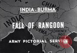 Image of British Indian 50th Parachute Division Rangoon Burma, 1945, second 4 stock footage video 65675037608