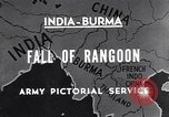 Image of British Indian 50th Parachute Division Rangoon Burma, 1945, second 5 stock footage video 65675037608