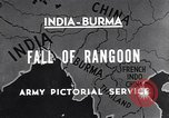 Image of British Indian 50th Parachute Division Rangoon Burma, 1945, second 6 stock footage video 65675037608