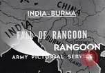 Image of British Indian 50th Parachute Division Rangoon Burma, 1945, second 8 stock footage video 65675037608