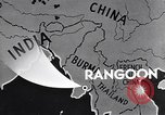 Image of British Indian 50th Parachute Division Rangoon Burma, 1945, second 9 stock footage video 65675037608
