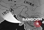 Image of British Indian 50th Parachute Division Rangoon Burma, 1945, second 10 stock footage video 65675037608