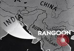 Image of British Indian 50th Parachute Division Rangoon Burma, 1945, second 11 stock footage video 65675037608