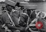 Image of British Indian 50th Parachute Division Rangoon Burma, 1945, second 27 stock footage video 65675037608