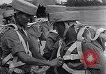 Image of British Indian 50th Parachute Division Rangoon Burma, 1945, second 28 stock footage video 65675037608