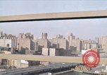 Image of New York City buildings and traffic New York City USA, 1970, second 1 stock footage video 65675040532