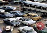 Image of New York City buildings and traffic New York City USA, 1970, second 32 stock footage video 65675040532