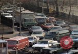 Image of New York City buildings and traffic New York City USA, 1970, second 45 stock footage video 65675040532