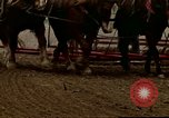 Image of Farmer with horses and mules plows field New York United States USA, 1970, second 54 stock footage video 65675040536