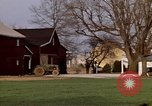 Image of Barn in a field New York United States USA, 1970, second 52 stock footage video 65675040542