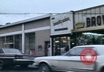 Image of Shops and stores along street of New York City New York City USA, 1970, second 1 stock footage video 65675040546