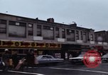 Image of Shops and stores along street of New York City New York City USA, 1970, second 8 stock footage video 65675040546