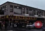 Image of Shops and stores along street of New York City New York City USA, 1970, second 9 stock footage video 65675040546