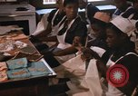 Image of Needlework and sewing class Kingston Jamaica, 1972, second 8 stock footage video 65675040547