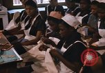Image of Needlework and sewing class Kingston Jamaica, 1972, second 9 stock footage video 65675040547