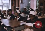 Image of Needlework and sewing class Kingston Jamaica, 1972, second 15 stock footage video 65675040547