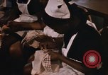 Image of Needlework and sewing class Kingston Jamaica, 1972, second 23 stock footage video 65675040547