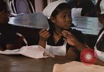 Image of Needlework and sewing class Kingston Jamaica, 1972, second 56 stock footage video 65675040547