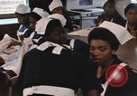 Image of Needlework and sewing class Kingston Jamaica, 1972, second 61 stock footage video 65675040547