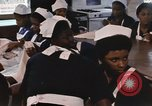 Image of Needlework and sewing class Kingston Jamaica, 1972, second 62 stock footage video 65675040547