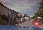 Image of narrow streets Kingston Jamaica, 1972, second 16 stock footage video 65675040554