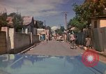 Image of narrow streets Kingston Jamaica, 1972, second 19 stock footage video 65675040554